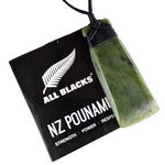 All Blacks New Zealand Pounamu Toki Pendant