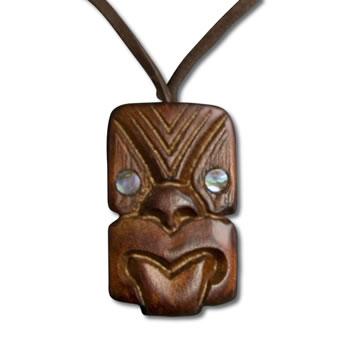 Koruru Wood Pendant New Zealand Jewellery New Zealand