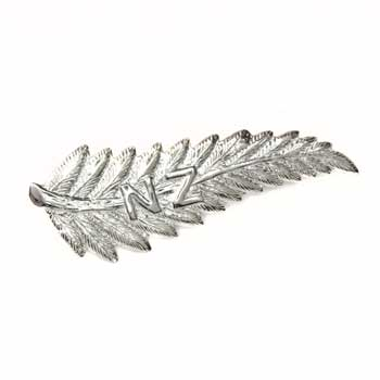 New Zealand Vintage Style Sterling Silver New Zealand Fern Brooch by Moreton Jewellery